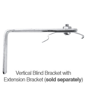 Decomatic Mounting Bracket for Inside Mount Vertical Blinds