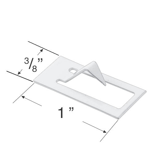 Hunter Douglas Arch Support Hook for Arched and Circular Cellular Shades