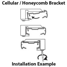 Load image into Gallery viewer, Mounting Bracket for Corded Cellular Honeycomb Shades