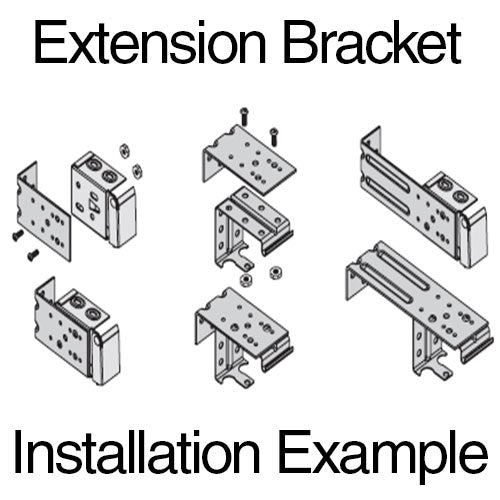 Metal Extension Bracket 4 Quot Fix My Blinds Inc