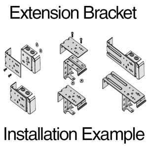 Metal Extension Bracket - 4""