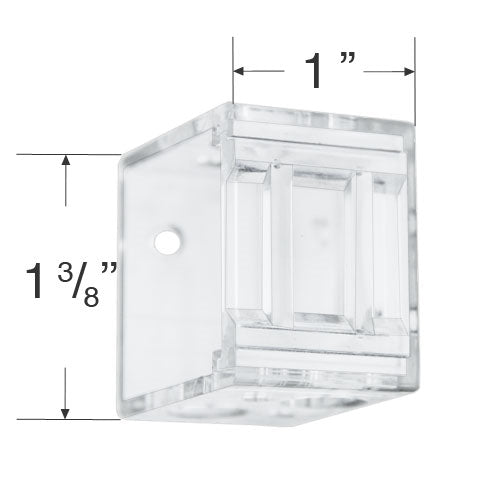 Plastic Box Mounting Brackets for 1