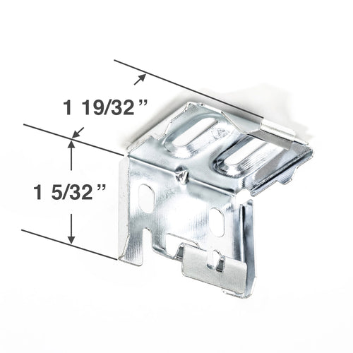 Levolor Hidden Metal Mounting Bracket for 1