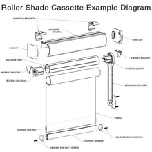Rollease Mounting Brackets for Roller Shades with Cassettes