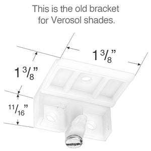 Verosol Mounting Bracket for Cellular and Pleated Shade