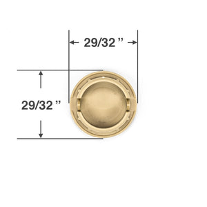 Bottom Rail Cord Cover Button for Wood and Faux Wood Blinds