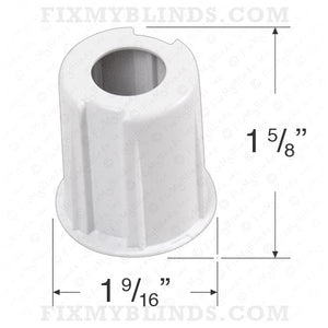 "Rollease Clutch Adapter for Roller Shades with Skyline Clutch SL15 - 1 1/2"" Tubes"