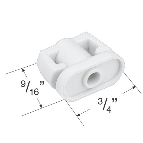 Bali And Graber Bottom Rail End Cap For 1 Quot Mini Blinds