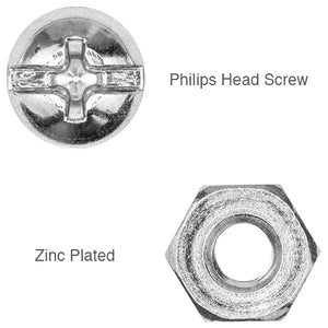 Nut and Bolt for Extension Brackets