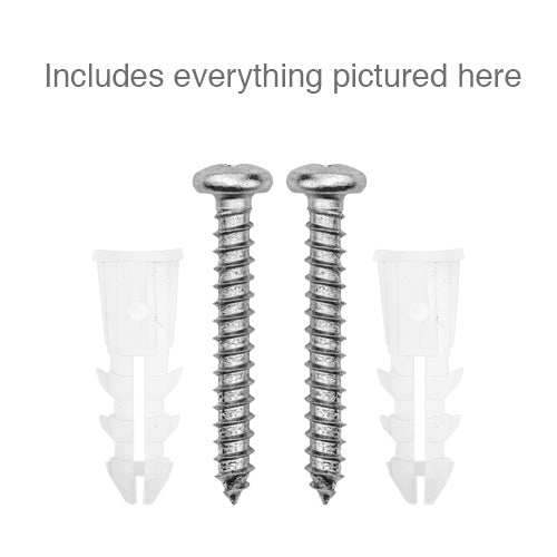 Screw and Anchor Fastener Set for Drywall