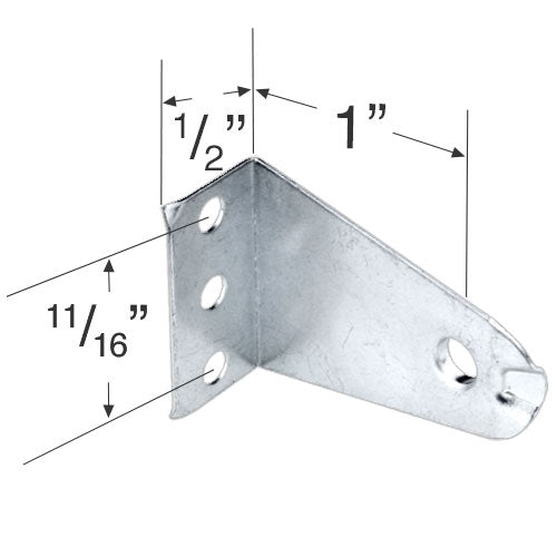 Metal Hold Down Bracket for 1