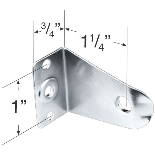 Metal Hold Down Bracket for 2