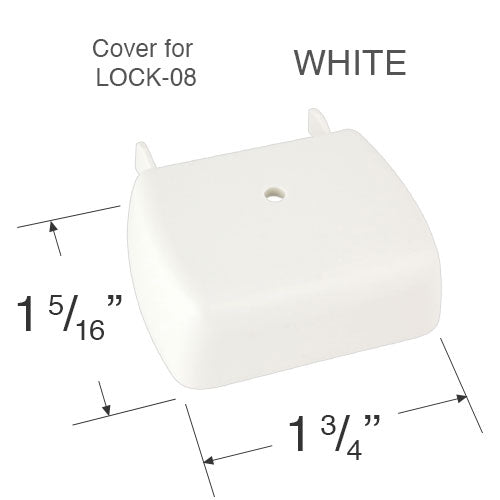 Comfortex Cord Lock Cover for Cellular Honeycomb Shades - 1 3/8