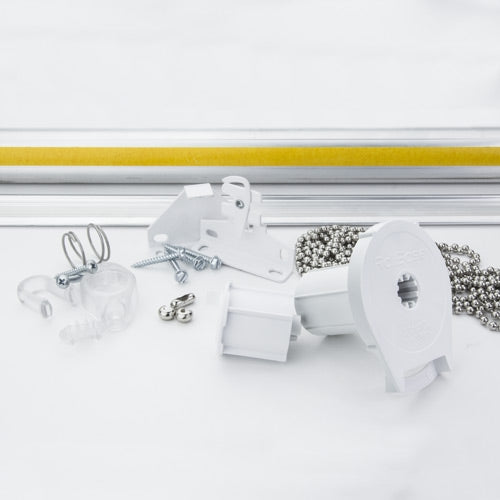 5 Ft Wide Roller Shade Kit 1 1 2 Quot Tube Fix My Blinds Inc