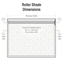 5 ft Wide Roller Shade Kit - 1 1/2