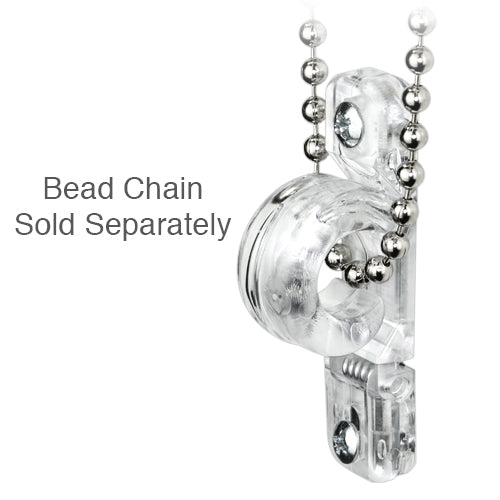 Cord Loop and Bead Chain Tension Device - Clear