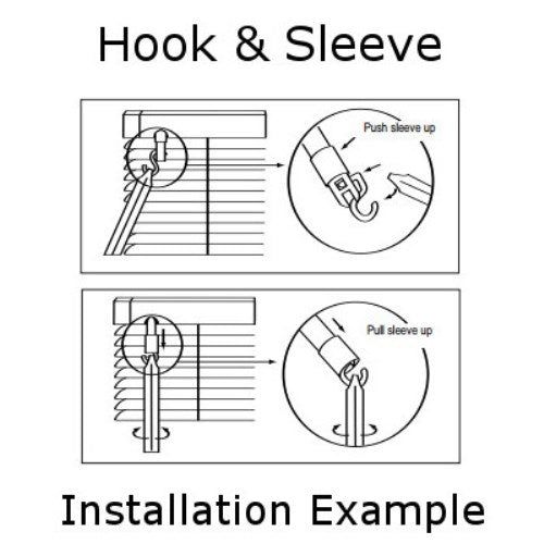 Tilt Mechanism Sleeve For Horizontal Blinds Fix My