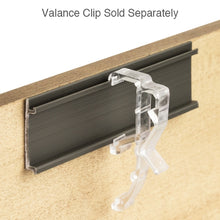 Load image into Gallery viewer, Valance Clip for Wood & Faux Wood Valances