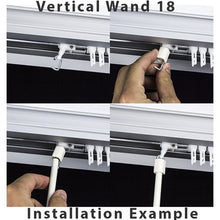 Load image into Gallery viewer, Alabaster Fiberglass Wand 18 for Vertical Blinds