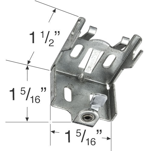 Clearance Mini Blind Swivel Lock Bracket
