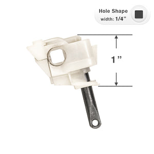 "Hunter Douglas Wand Tilt Mechanism for 1"" by 1 1/2"" Headrails with a 1/4"" Square Rod"