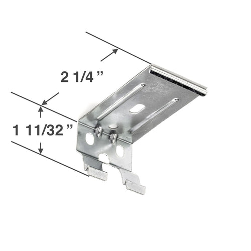 Graber CrystalPleat Mounting Bracket for Cordless Operated Cellular Shades with a 2 3/8