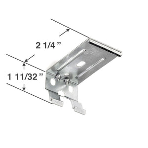 "Graber CrystalPleat Mounting Bracket for Cordless Operated Cellular Shades with a 2 3/8"" Headrail"