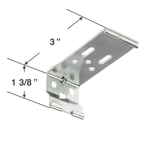 Graber CrystalPleat Mounting Bracket for Cordless Operated Cellular Shades with a 3 1/8