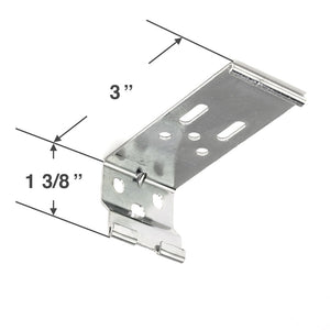 "Graber CrystalPleat Mounting Bracket for Cordless Operated Cellular Shades with a 3 1/8"" Headrail"
