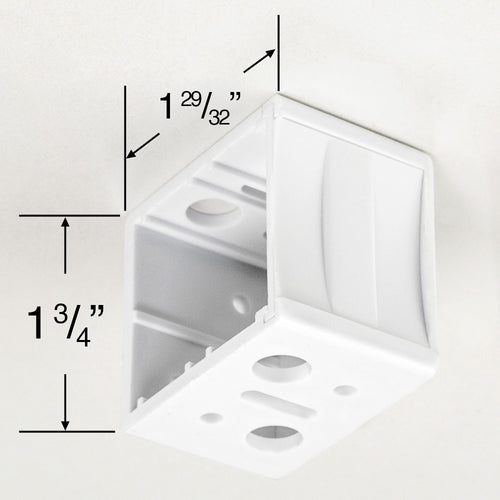 Plastic Box Mounting Brackets for 1 1/2