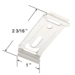 Graber and Bali Mounting Bracket for Panel Track Blinds