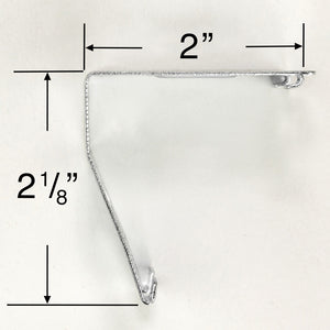 Rollease Mounting Bracket for Roller Shades with Cassettes