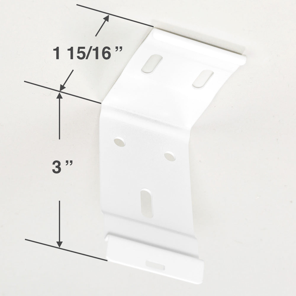 Hunter Douglas Mounting Bracket for Roller Shades with Cassettes
