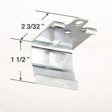 Levolor Mounting Bracket for Roller Shades with Cassettes