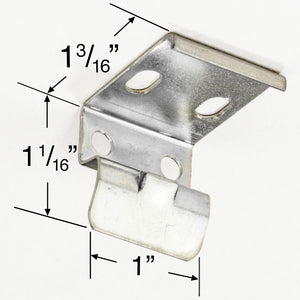 "RV Day/Night Pleated Shade Mounting Bracket with 1"" Headrails"