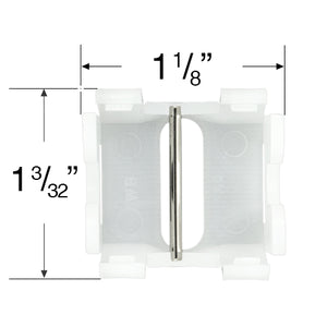 "Cradle for 1"" Mini Blinds"