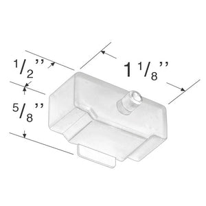 "Graber and Bali Bottom Rail End Cap for 1"" Mini Blinds"