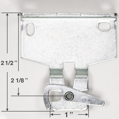 Rollease R-Series 580 Roller Shade Mounting Brackets for R16, G200 & R24 Clutches - RB580