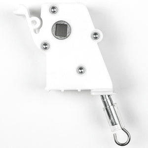"Heavy Duty Wand Tilt Mechanism for High Profile Head Rails with a 1/4"" Square Hole"