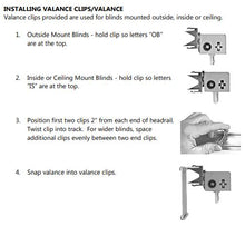 Alta and M&B Vertical Blind Valance Clip