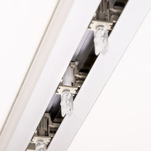 Decomatic Carrier Clip Stems for Vertical Blinds