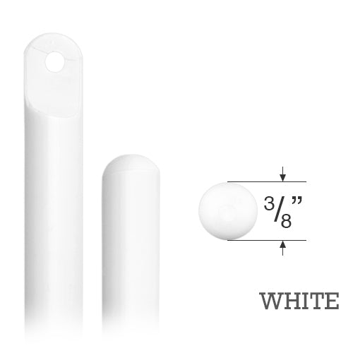 Smooth Round Plastic Wand for Mini Blinds and Wood & Faux Wood Blinds