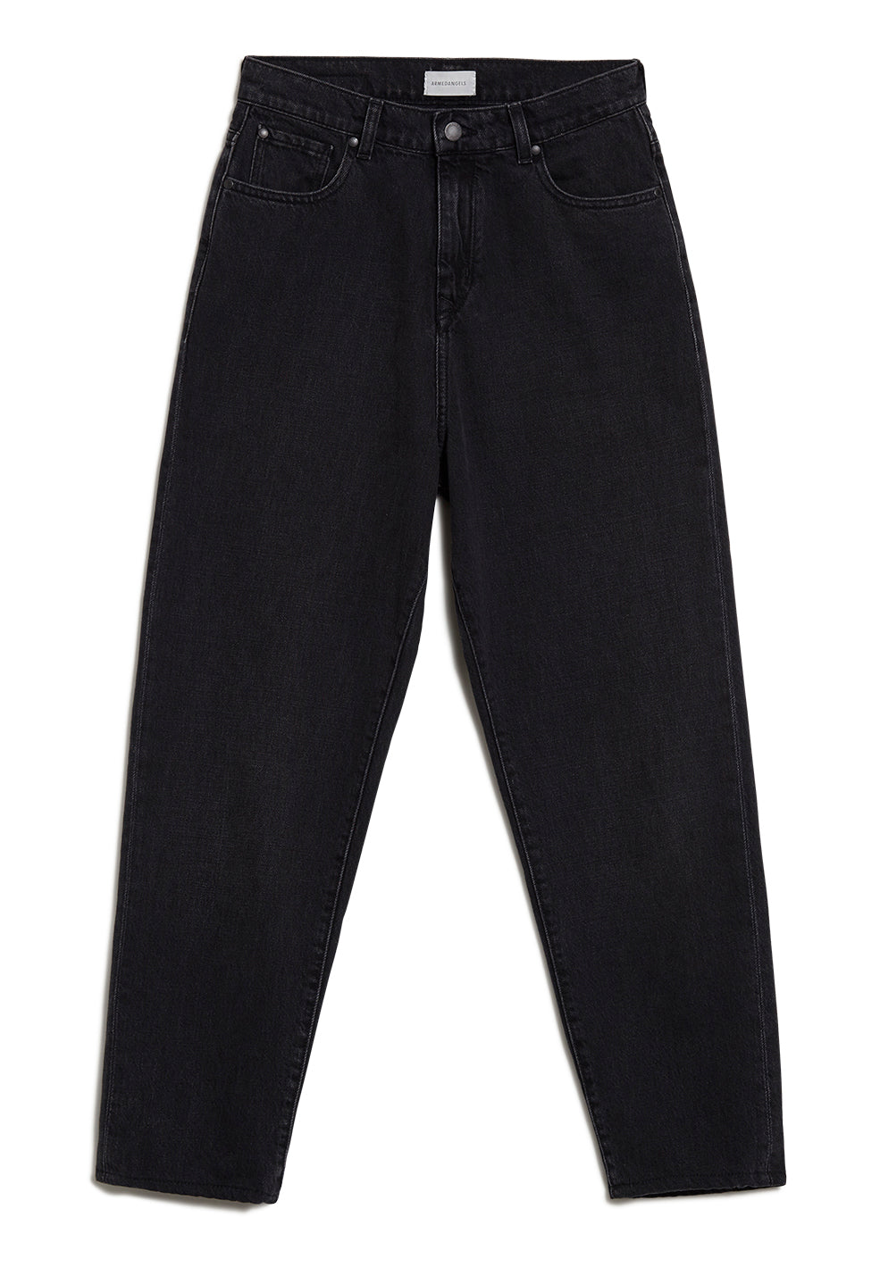 jeans mairaa mom fit washed down black