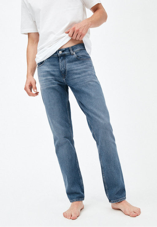 jeans dylaan straight fit light stone wash