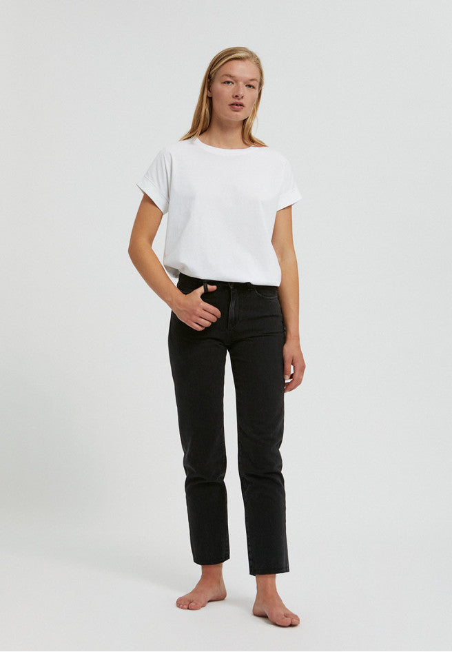 jeans fjellaa cropped black-grey