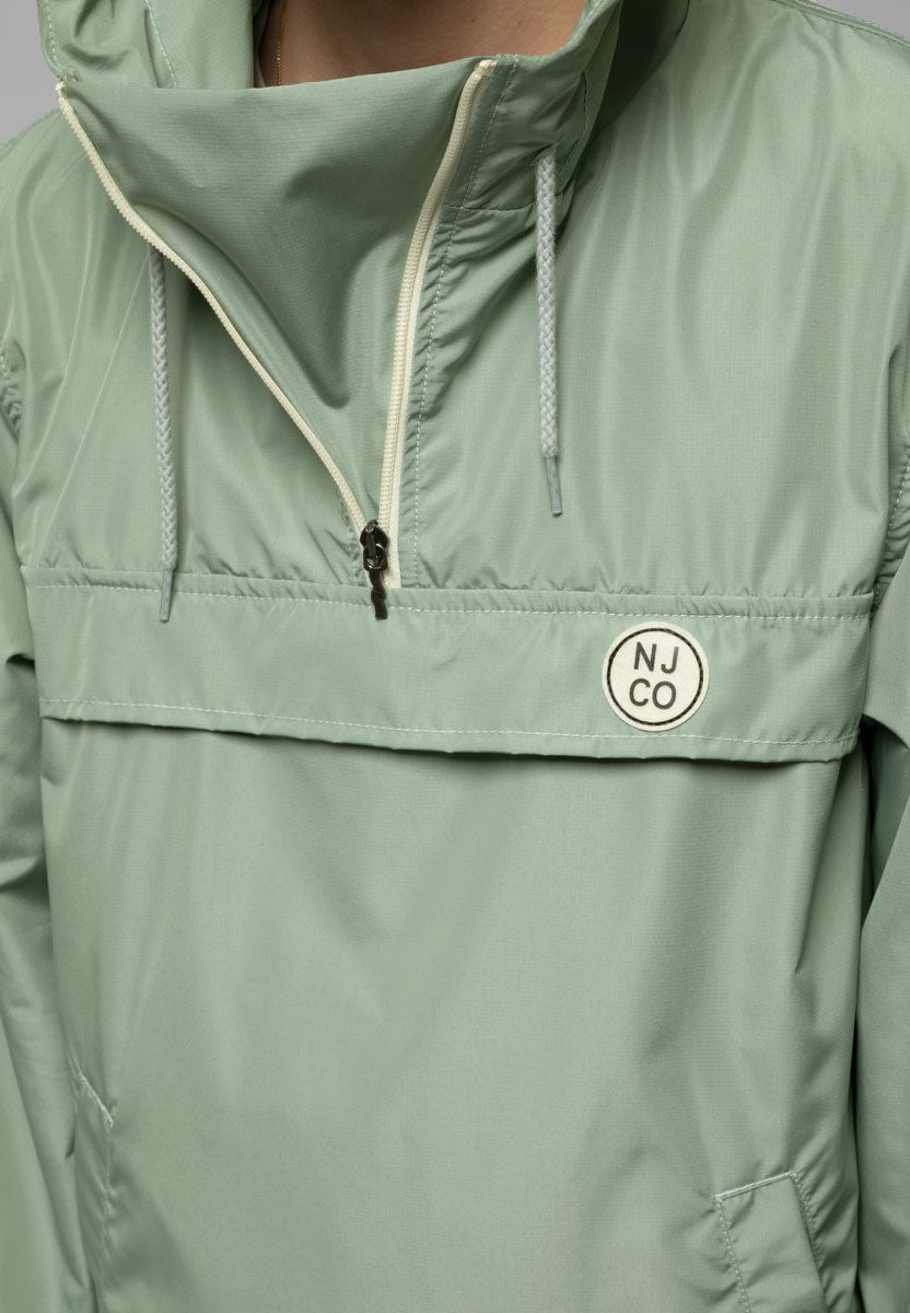 anorak buster pale green