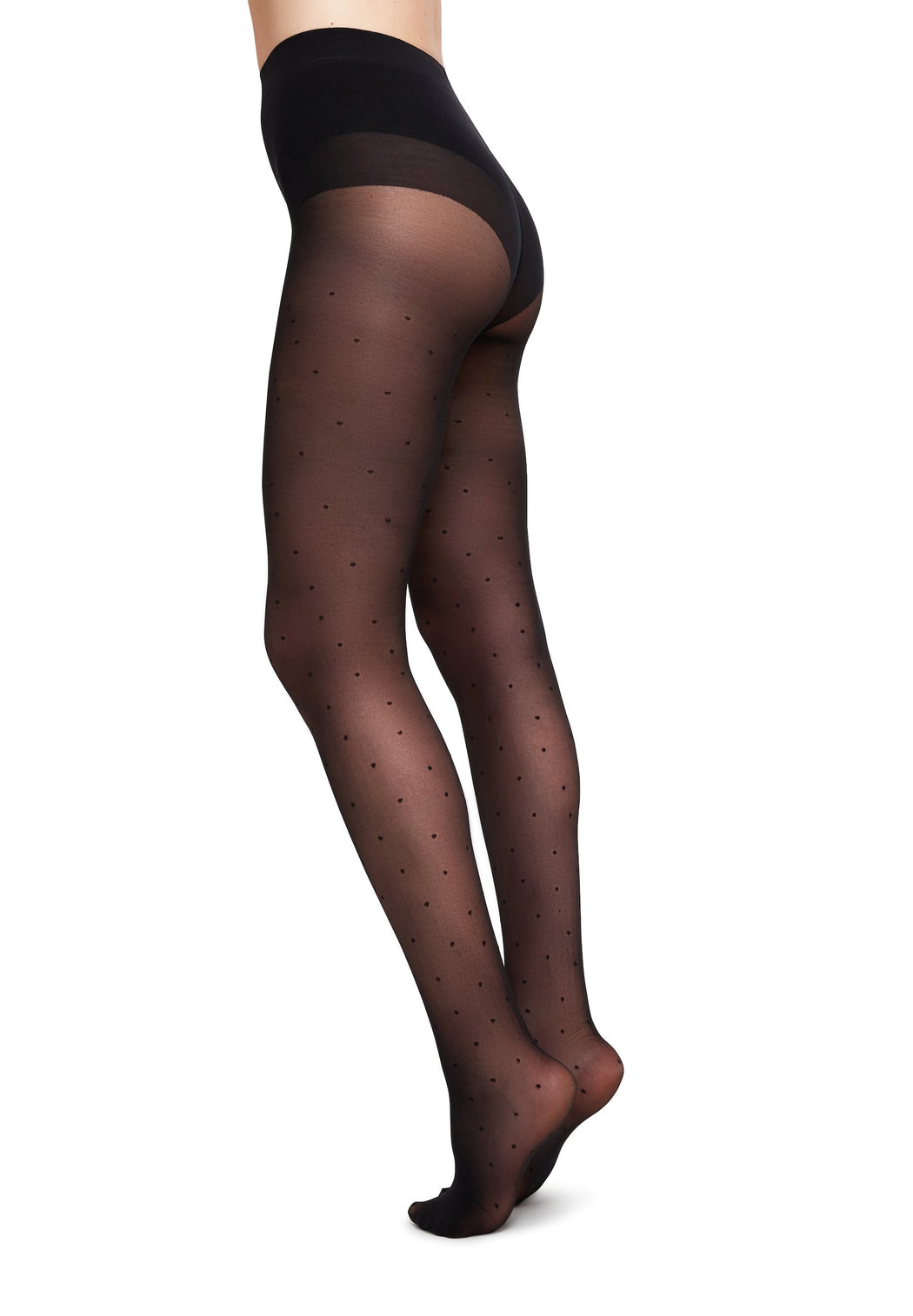 strumpfhose doris dots black