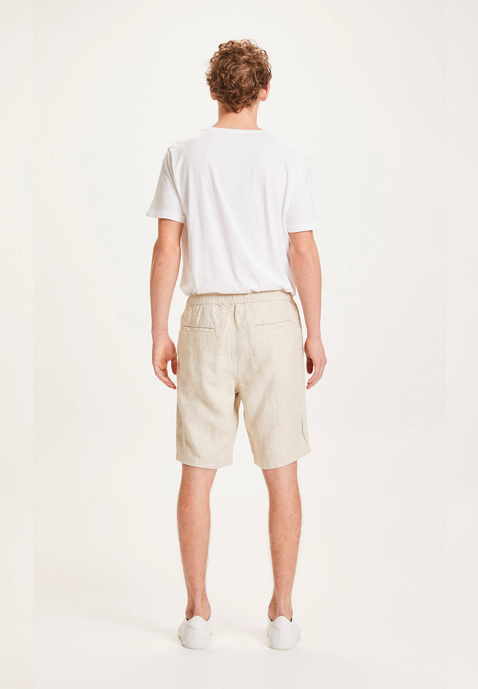 leinenshorts fig light feather gray