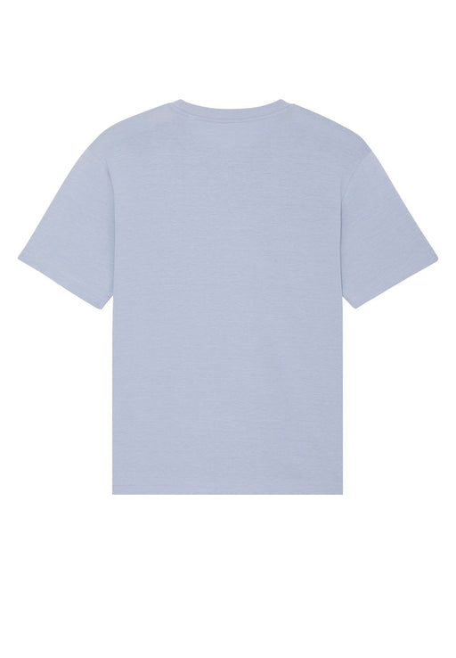 relaxed unisex t-shirt serene blue