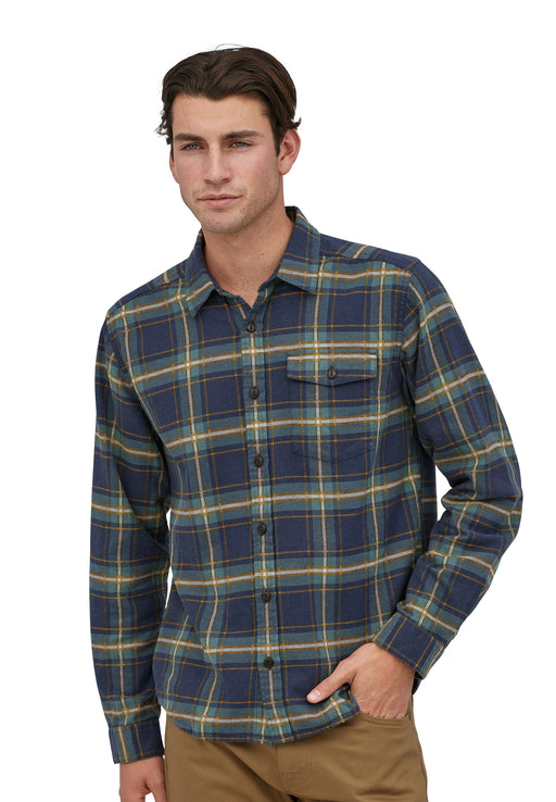 fjord flannel shirt new navy